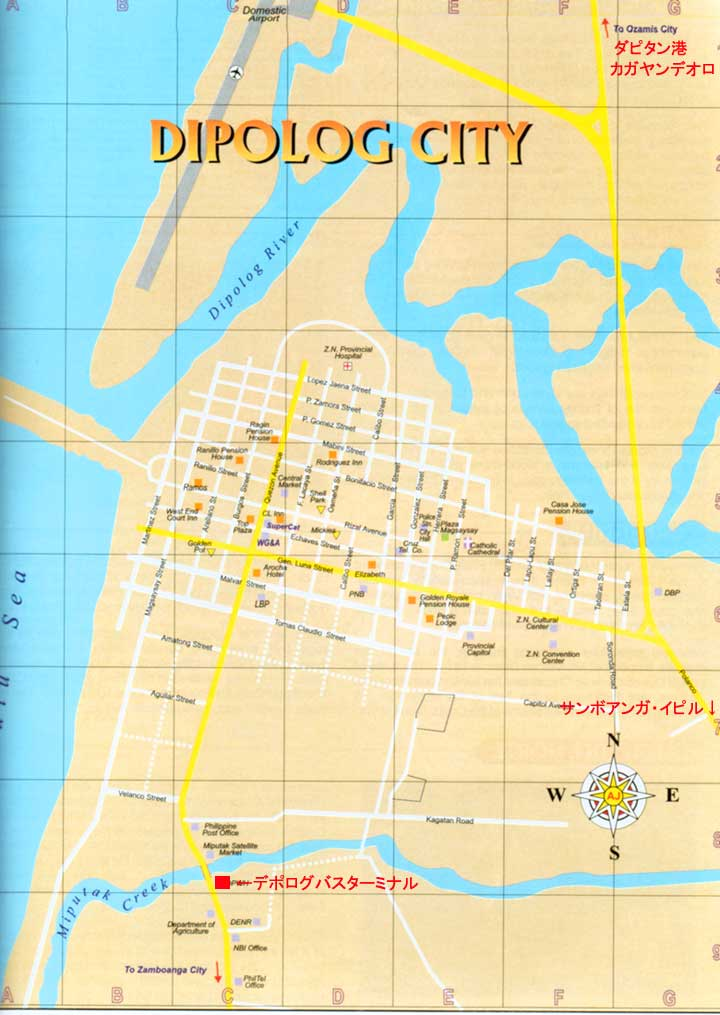 Dipolog Philippines  city pictures gallery : Dipolog Philippines Map http://dict.space.4goo.net/city/102782